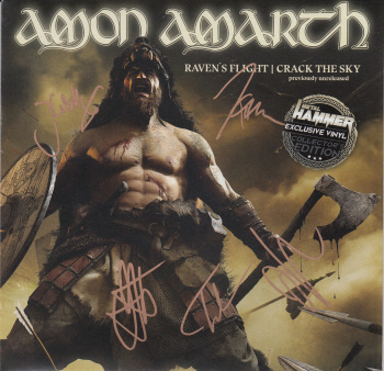 Amon Amarth Raven's Flight / Crack The Sky, Metal Blade records, Sony music/Columbia europe, 7""