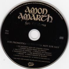 Amon Amarth Fate Of Norns, Metal Blade records germany, CD Promo
