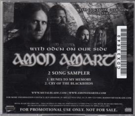 Amon Amarth With Oden On Our Side, Metal Blade records usa, CD Promo
