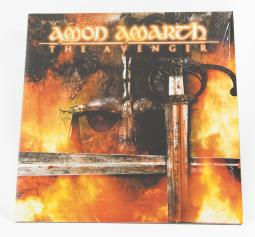 Amon Amarth The Avenger, Back On Black united kingdom, LP red