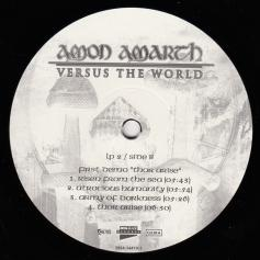 Amon Amarth Versus The World, Metal Blade records germany, LP