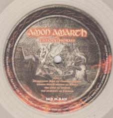 Amon Amarth Fate Of Norns, Back On Black united kingdom, LP clear