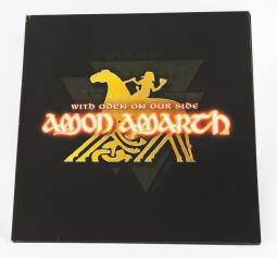 Amon Amarth With Oden On Our Side, Metal Blade records germany, LP red