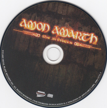 Amon Amarth The Avenger, Metal Blade records usa, CD