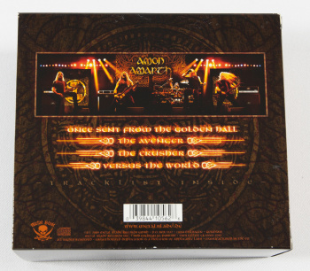 Amon Amarth Versus The World, Metal Blade records europe, CD