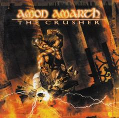 Amon Amarth The Crusher, Metal Blade records germany, CD Promo