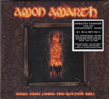 Amon Amarth Once Sent From The Golden Hall, Metal Blade records europe, CD