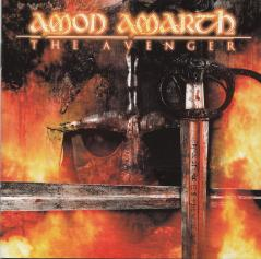 Amon Amarth The Avenger, Metal Blade records germany, CD Promo