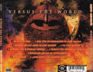 Amon Amarth Versus The World, Metal Blade records germany, CD Promo