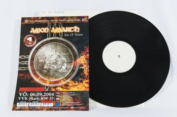 Amon Amarth Fate Of Norns, Metal Blade records germany, LP Test Pressing