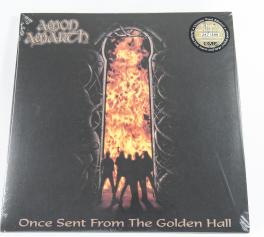 Amon Amarth Once Sent From The Golden Hall, Metal Blade records europe, LP khaki