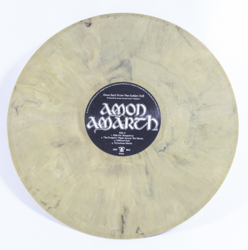 Amon Amarth Once Sent From The Golden Hall, Metal Blade records europe, LP orange/black