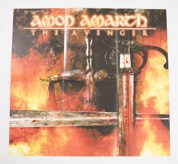 Amon Amarth The Avenger, Metal Blade records europe, LP yellow/red