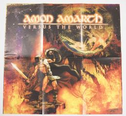Amon Amarth Versus The World, Metal Blade records europe, LP orange/red
