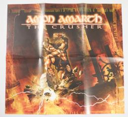 Amon Amarth The Crusher, Metal Blade records europe, LP yellow