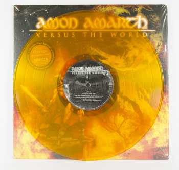 Amon Amarth Versus The World, Metal Blade records europe, LP orange