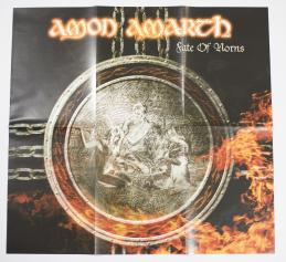 Amon Amarth Fate Of Norns, Metal Blade records europe, LP grey