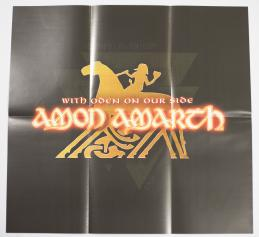 Amon Amarth With Oden On Our Side, Metal Blade records europe, LP yellow/red