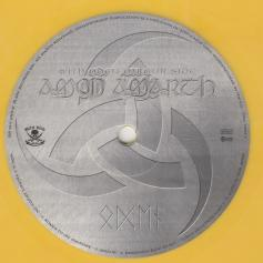Amon Amarth With Oden On Our Side, Metal Blade records europe, LP yellow