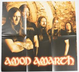 Amon Amarth With Oden On Our Side, Metal Blade records europe, LP clear
