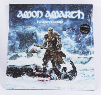 Amon Amarth Jomsviking, Metal Blade records, Sony music/Columbia germany, LP green