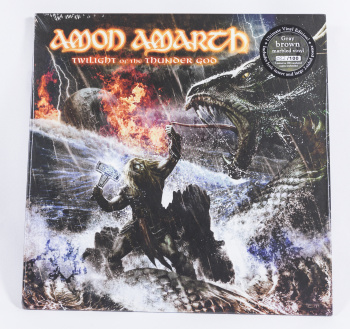 Amon Amarth Twilight Of The Thunder God, Metal Blade records europe, LP brown