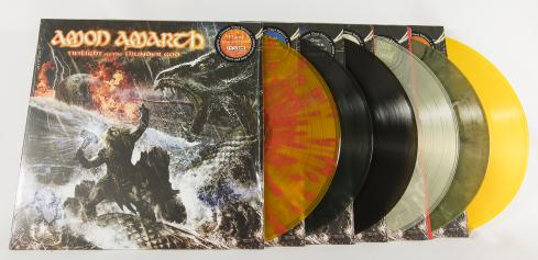 Amon Amarth Twilight Of The Thunder God, Metal Blade records europe, LP green