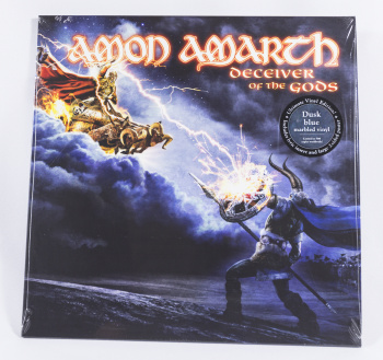 Amon Amarth Deceiver Of The Gods, Metal Blade records europe, LP blue