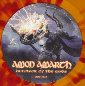Amon Amarth Deceiver Of The Gods, Metal Blade records europe, LP yellow/red