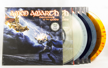 Amon Amarth Deceiver Of The Gods, Metal Blade records europe, LP clear